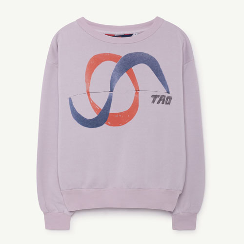 Bear Sweatshirt (Purple TAO)