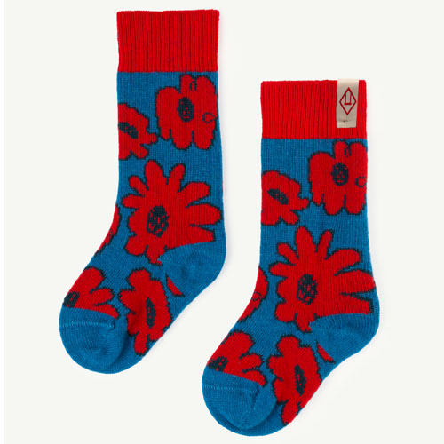 Snail Socks (red apple)