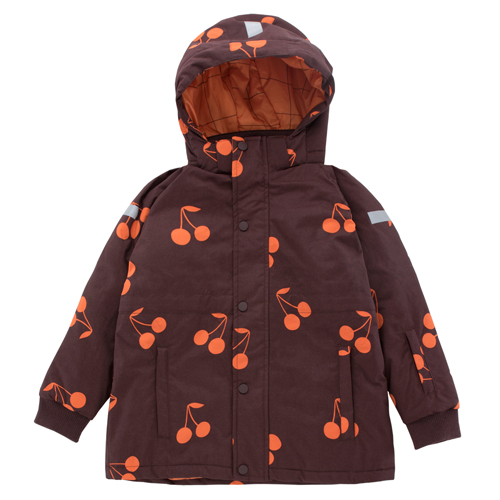 Big Cherries Snow Jacket (plum)