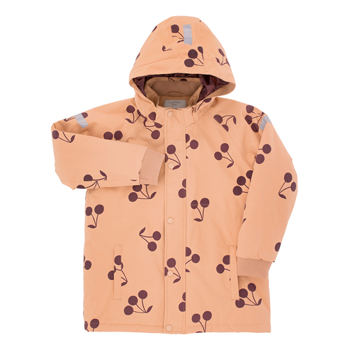 [6y]Big Cherries Snow Jacket (nude)