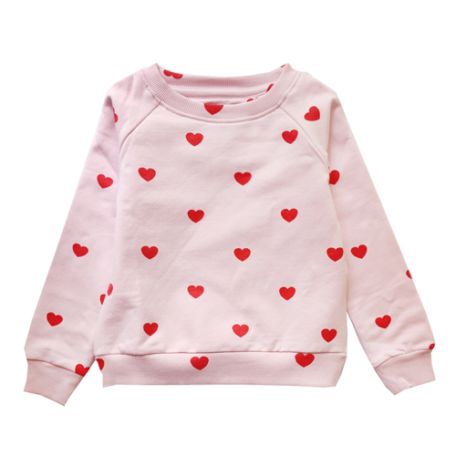 [4y]Sweatshirt (red heart)