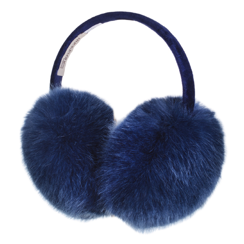 Pompom Ear Muffs (ink)