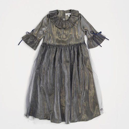 [6y]Rachel Dress (navy black)
