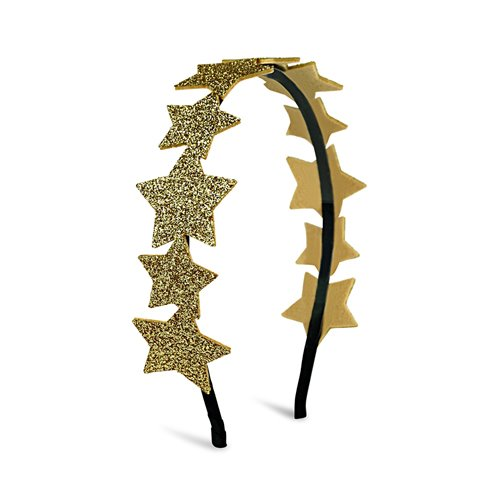 Glitter Star Headband (gold)