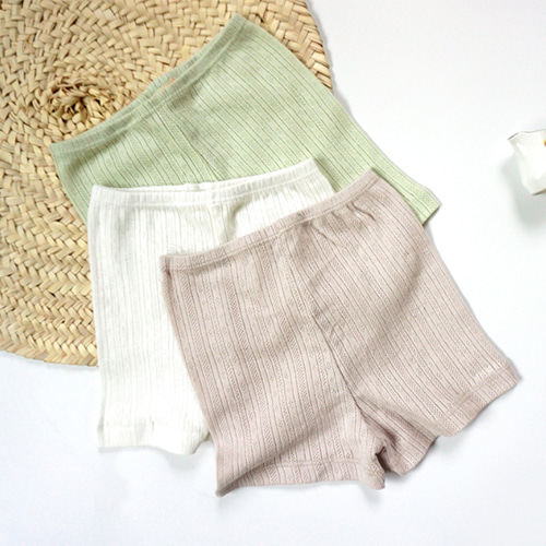 Eyelet Briefs (3colors)
