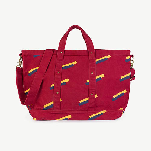 Big Canvas Bag 1110_045 (red)