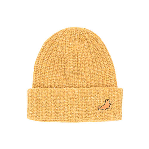 Little Seal Beanie #228 (yellow)