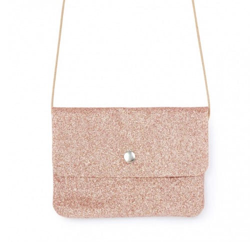 Bonton Mini Glitter Bag (rose)