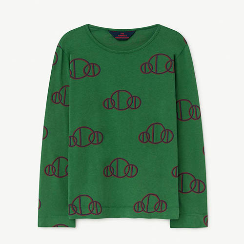 Eel Tshirt 973_177 (green circle)