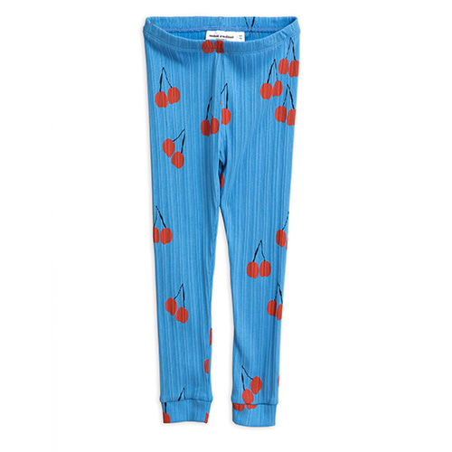 Cherry Leggings (blue)