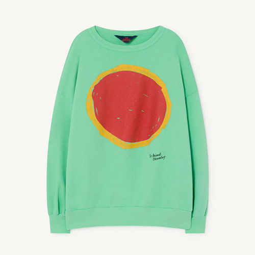 [2y]Big Bear Sweatshirt 1141_196 (green sun)