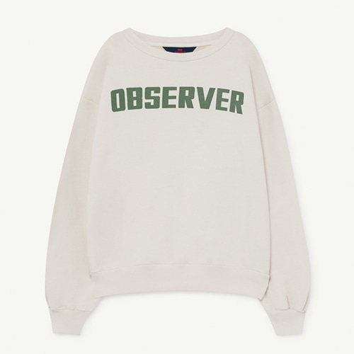 Bear Sweatshirt 1139_009 (white observer)