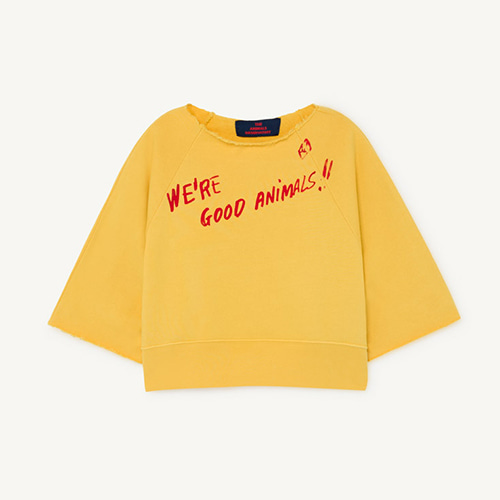 Squab Sweatshirt 1143_016 (yellow animal)