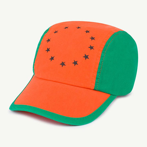Big Hamster Cap 1392_037 (orange star/55cm이상)