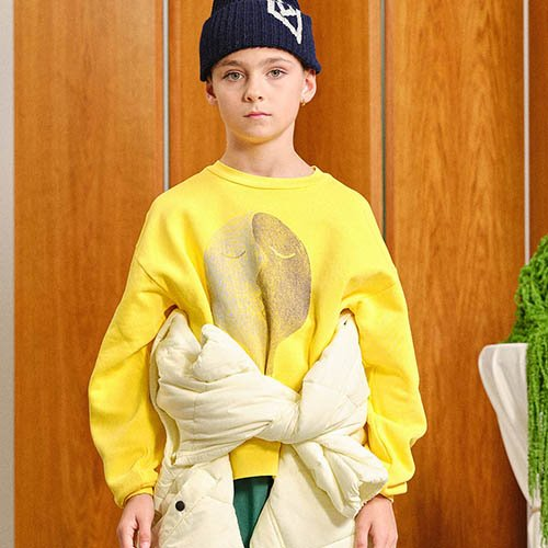Bear Sweatshirt 1297_203 (yellow face)