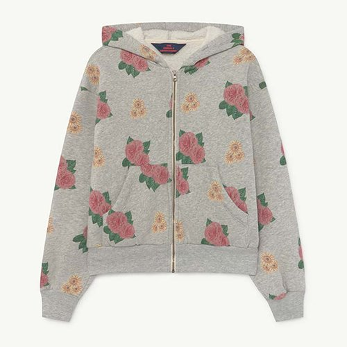 Seahorse Zip Sweat 1300_208 (grey flowers)