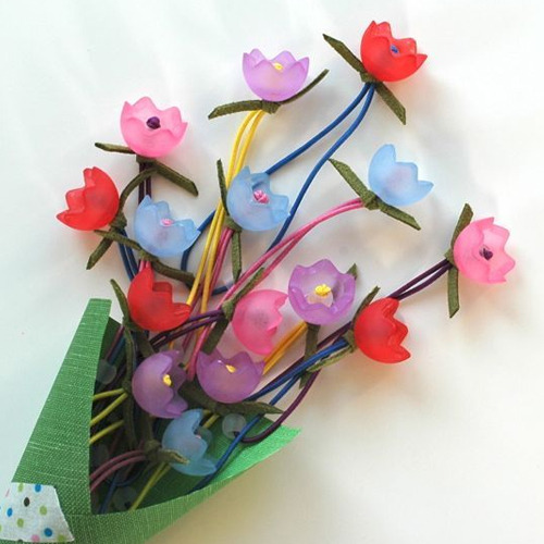 Tulip Ponytail Holder - 4colors