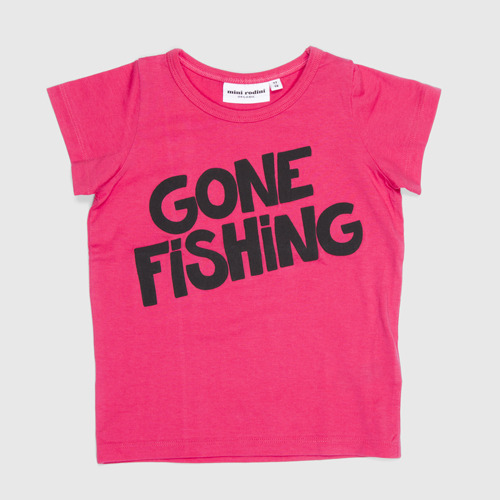 [80/86cm]Gone Fishing Tee
