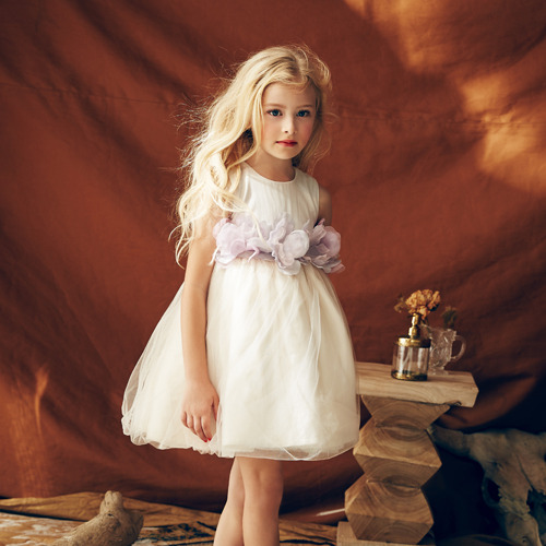 [2y]Blossom Dress (orchid ice)