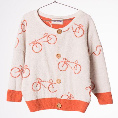 Baby Knitted Cardigan Cyclist #210
