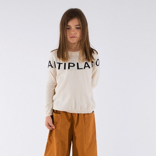 [6,8y]Altiplano Sweater