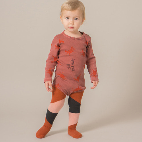 [baby]Tights Dusty Rose #253