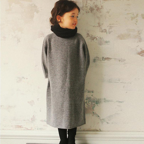 Knit Dress #02 (gray)