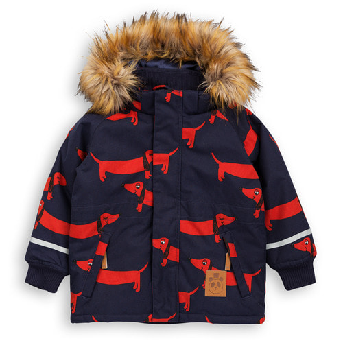 K2 Dog Parka (navy)
