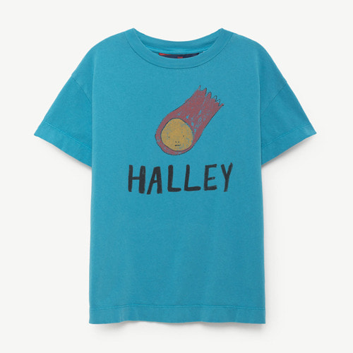 Rooster Tshirt (blue halley)