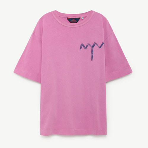 [6y]Rooster Oversize Tshirt (fuchsia tree)