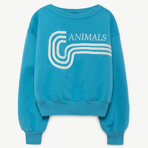 [2y]Bear Sweatshirt (blue animal)