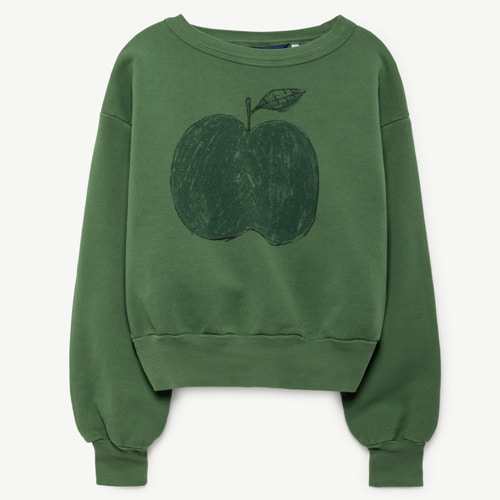 Bear Sweatshirt (green apple)