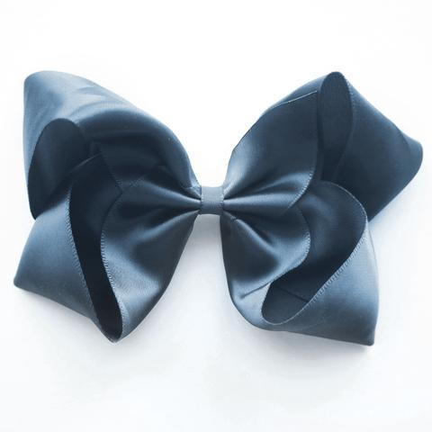 Large Satin Clip (antique blue)