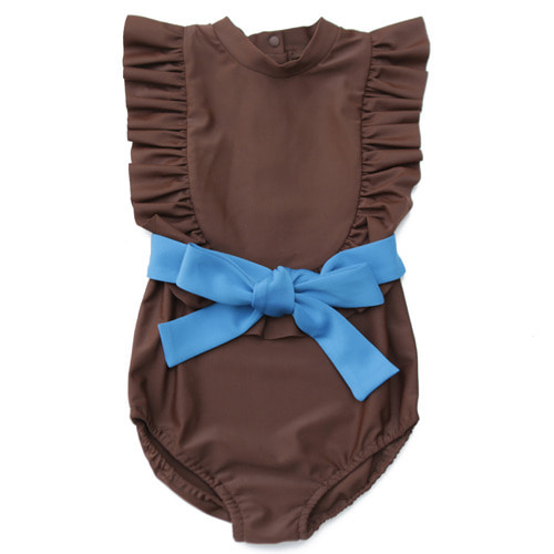 Swimsuit #02 (choco brown)