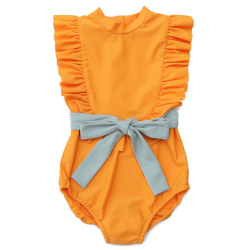 [재입고]Swimsuit #02 (orange yellow)