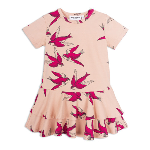 Swallows Frill Dress