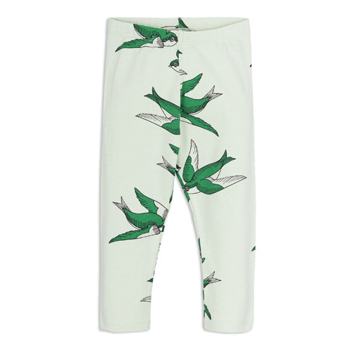 Swallows Leggings (green)