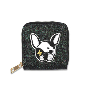 Glitter Wallet (french bulldog)