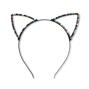 Crystal Cat Headband (multi)