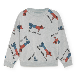 Sweatshirt Cats and dogs #28