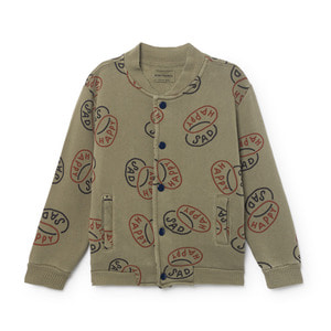 Button Sweatshirt Happysad #45