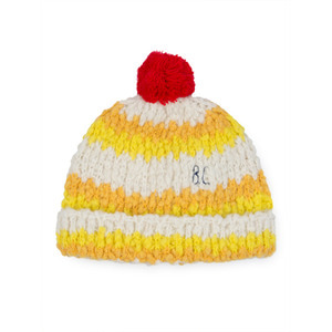 Beanie Yellow Stripe #131