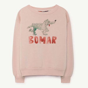 Bear Sweatshirt (rose green bomar)