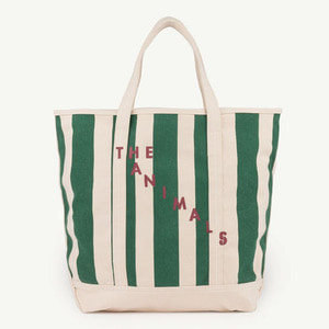 Tote Bag (navy stripes)