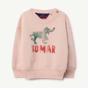 Bear Baby Sweatshirt (rose green bomar)