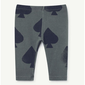 Penguin Baby Leggings (grey spades)