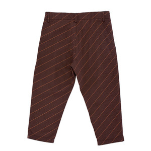Diagonal Pleated Pant