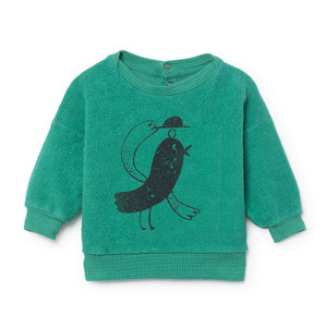 Bird Fleece Sweatshirt #192