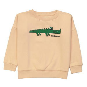 [2y]Wide Sweatshirt (krocodil)