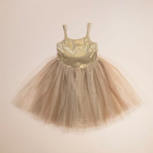 Ballerina Dress (gold)